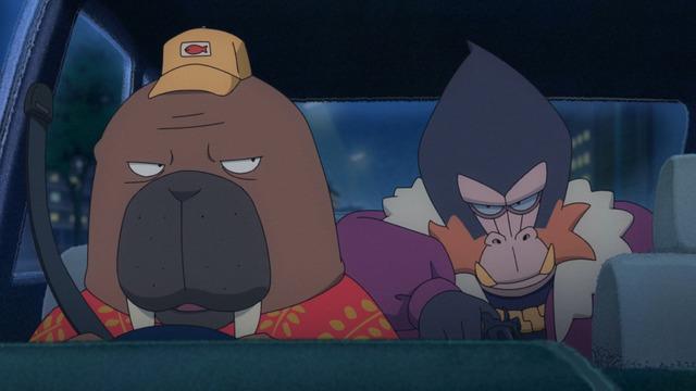 【アニメ】オッドタクシーがおもしろいのに話題にならない・・・。